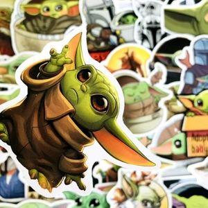 Baby Yoda, The Child, Grogu, 50 stickers